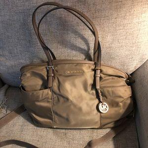 Michael Kors Nylon Jet Set Diaper Bag